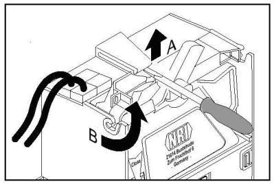 Схема снятия валидаторной головки